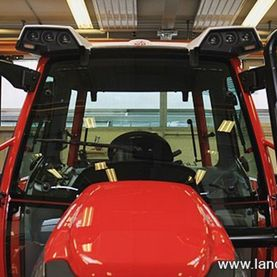 Lindner Lintrac 110 beim Rollout